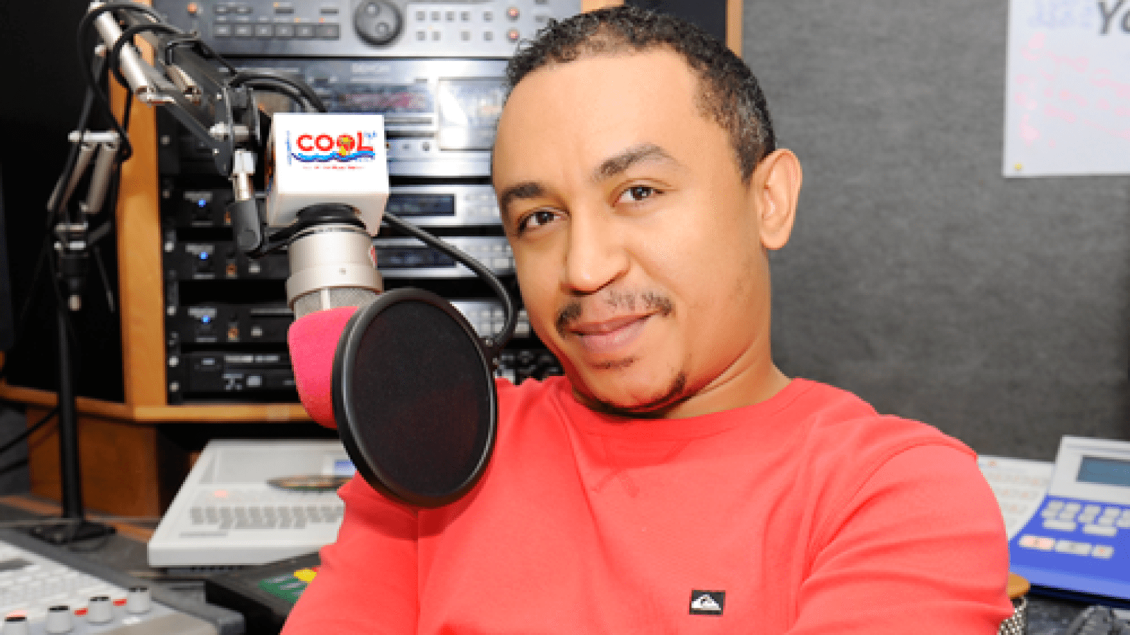 on air personality/radio presenter freeze