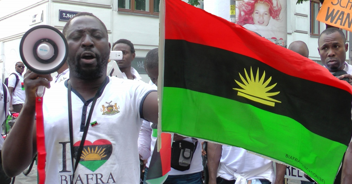 IPOB March For Trump In Port Harcourt