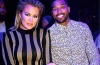 Khloe Kardashian And Tristan Thompson at LIV at Fontainebleau