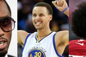 curry, diddy and kaepernick