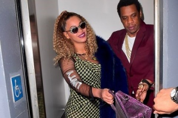 jay z and beyonce in elevator