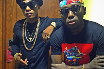 dj spinall and wizkid