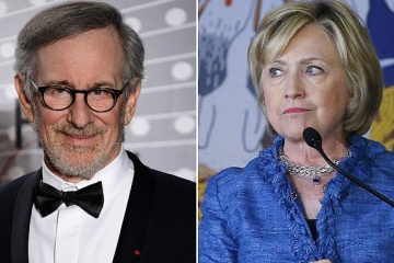 steven spielberg and hillary clinton
