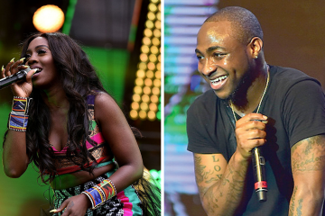 afrima 2018 tiwa savage and davido