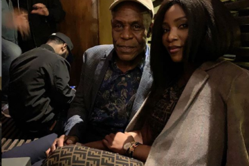genevieve nnaji with danny glover