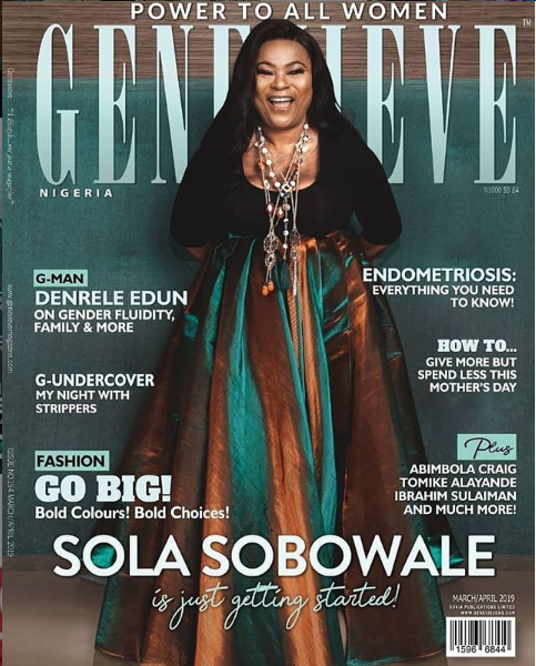 sola sobowale genevieve cover
