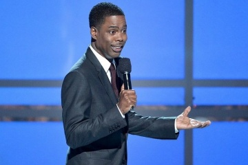 chris rock on stage