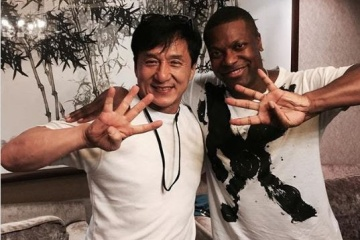 chris tucker and jackie chan rush hour