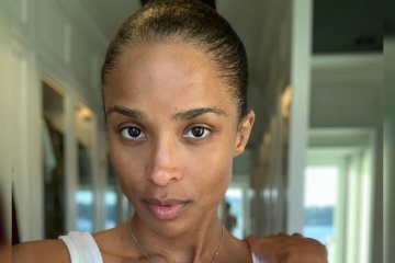 ciara no makeup face