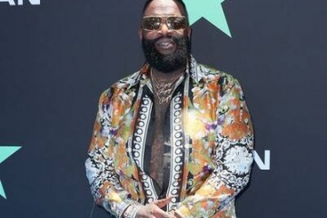 rick ross on redcarpet BET awards