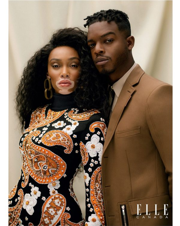Winnie Harlow and Actor Stephan James