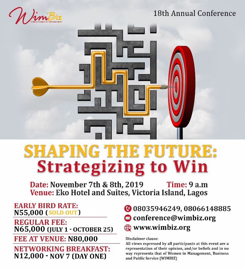 WIMBIZ Annual Conference Early Bird Sold Out
