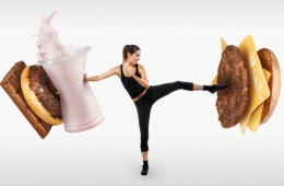 fighting off fast food