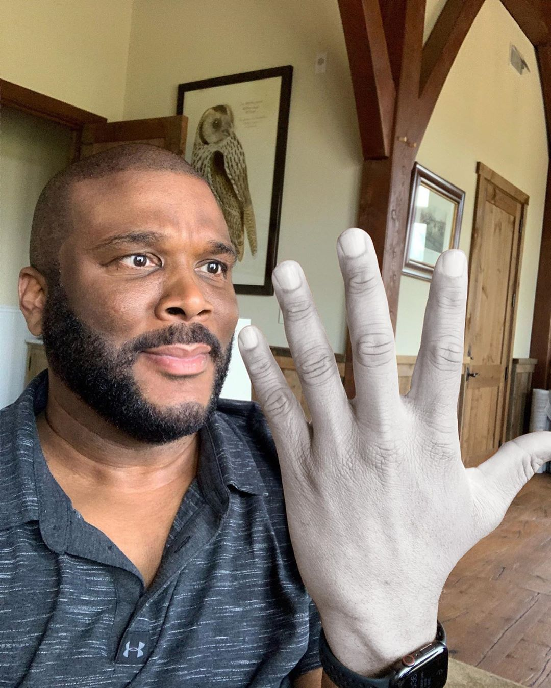 tyler perry, washed hands