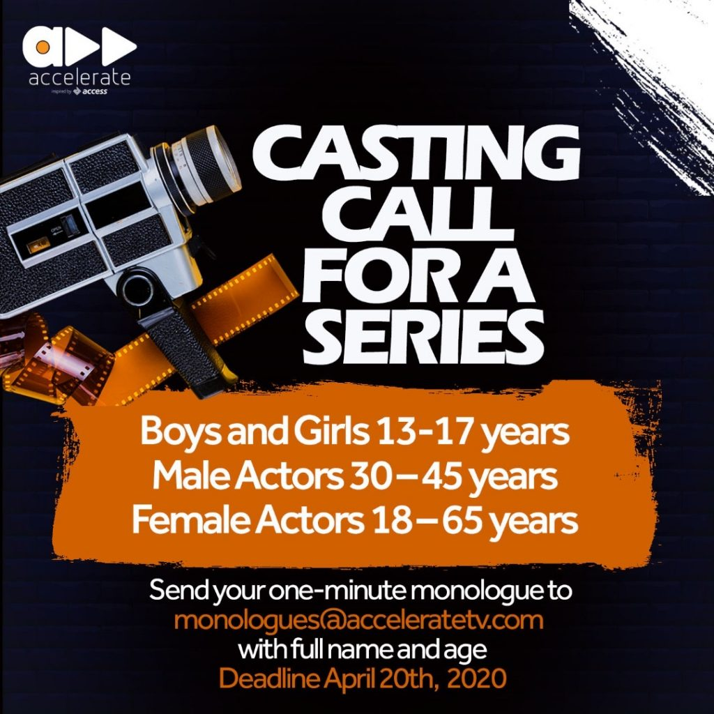 CASTING CALL for series