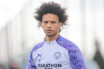 Leroy Sane from manchester city