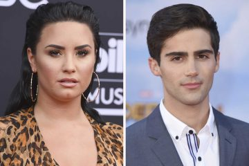 Demi Lovato and Max Enrich